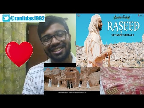 Raseed - Satinder Sartaaj Reaction & Thoughts| Jatinder Shah | Seasons Of Sartaaj