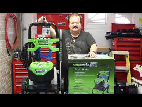 Open Box Review / Greenworks PRO 2200 Electric Pressure Washer!