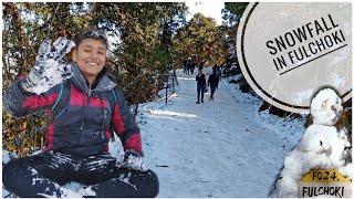 SNOWFALL NEAR KATHMANDU VALLEY ❄️❄️ ||EXPERIENCING SNOW FOR FIRST TIME !! (FULCHOKI SNOWFALL VLOG)