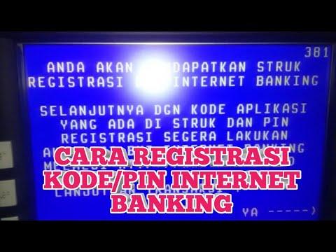CARA REGISTRASI KODE/PIN INTERNET BANKING BNI