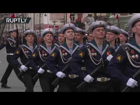 Russia's Vladivostok celebrates 76th anniversary of Victory Day