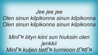 Apulanta - Kilpikonna Lyrics