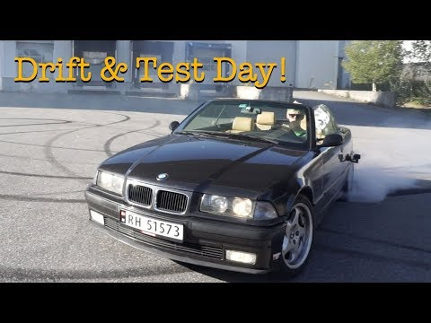 Finally 2nd gear burnout! E36 325i