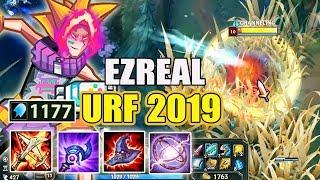 """GIẾT NGƯỜI TRONG 0.1S VỚI EZREAL CHẾ ĐỘ """" URF TẾT 2019 """" 1100 AP + THU THẬP"""