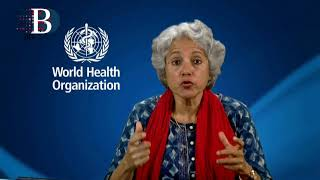Soumya Swaminathan, World Health Organization chief scientist,