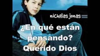 Nicholas Jonas- Dear God (traducción en español)