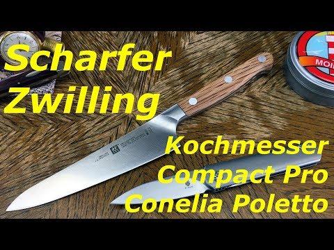 """Scharfer Zwilling! Kochmesser Compact Pro """"Cornelia Poletto"""" von Zwilling (Ersteindruck)"""