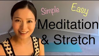 25mins Yoga Meditation 瞑想ストレッチ