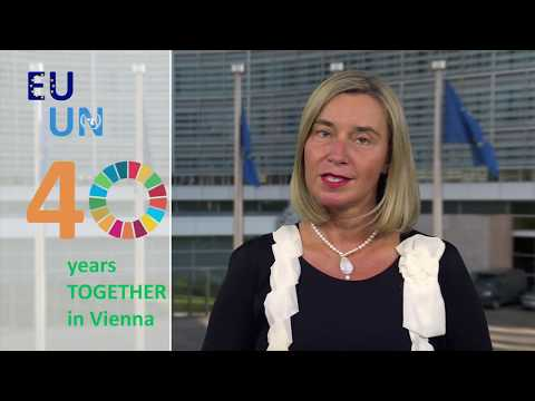 EU - UN 40 years TOGETHER in Vienna