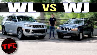 Old vs New: Does The 2021 Jeep Grand Cherokee L REALLY Improve On The Best Grand Cherokee Over Made?
