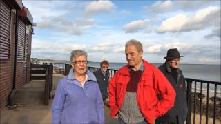 preview picture of video 'Whitley Bay Outside the Boardwalk Cafe 2nd November 2014 No Demolition North Tyneside Council'
