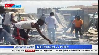Fire razed down at least 50 houses in Kitengela estate