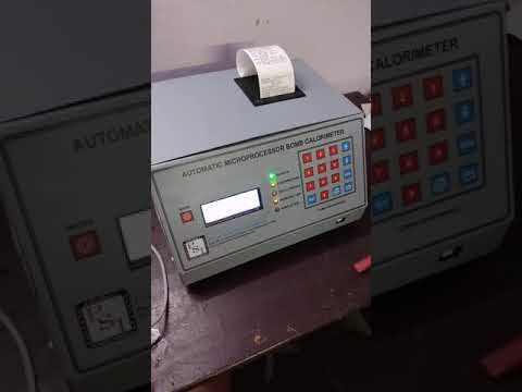 Fully Automatic Bomb Calorimeter (Model - C)