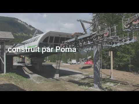 Dimanche 19/08/2018 : derniers tours de poulie pour le télésiège de Pierre Longue (Châtel)