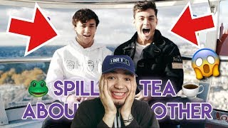 The DOLAN TWINS 😱EXPOSE EACH OTHER😳 REACTION !!