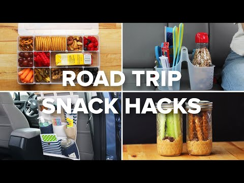 Snack Hacks To Make Road Trips A Breeze • Tasty