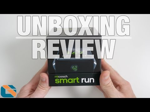 Adidas MiCoach Smart Run Watch Unboxing & Review