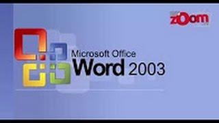 MS word Format menu Tutorials