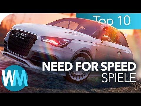 TOP 10 der COOLSTEN NEED FOR SPEED Spiele!