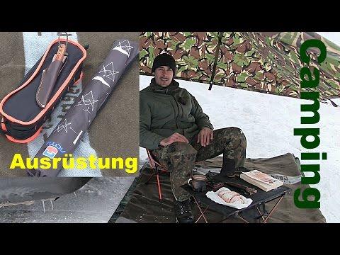 Stuhl und Tisch - klappbar, leicht. Camping Urlaub | Outdoor AusrüstungTV