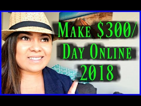 "(2018)  Make Fast Money Online  ""How To Make Money Online Fast 2018"" Work From Home Jobs"