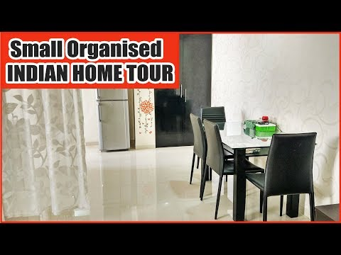 My Indian Home Tour  SMALL HOME ORGANIZATION DECOR IDEAS Middle Class 2BHK House tour -Flat Interior