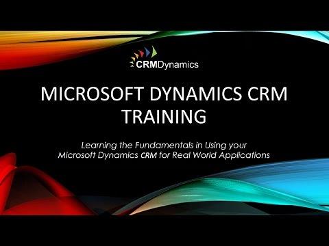Microsoft Dynamics CRM Training – Managing Leads and ...