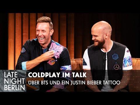 Coldplay - Hat Chris Martin wirklich ein Justin Bieber Tattoo?! | Late Night Berlin | ProSieben