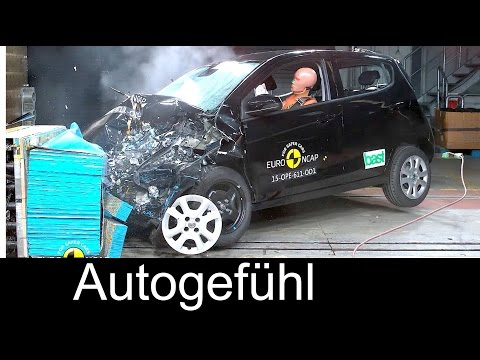 New Vauxhall Viva Opel Karl Chevrolet Spark crash test euro ncap 4 stars - Autogefühl