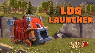 Crush Villages With The LOG LAUNCHER! (Clash of Clans)