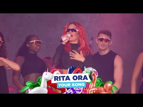 Rita Ora - 'Your Song' (live At Capital's Summertime Ball 2018)