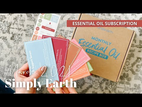 Simply Earth Unboxing March 2021