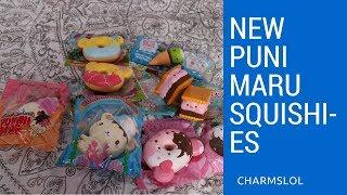 New Puni Maru Squishies! Marshmelli, Octostacks, etc  | CharmsLOL