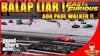 GTA V MOD (13) - MOBIL PALING CEPAT ? Balap Liar & Drag !!