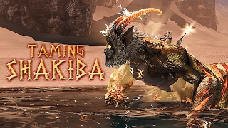 Taming Shakiba! Riders of Icarus (Legendary Tame)
