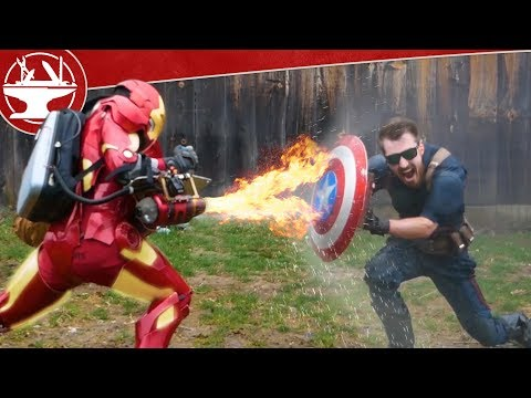 Jet Engine VS Captain America Shield (MAKE IT BREAK)