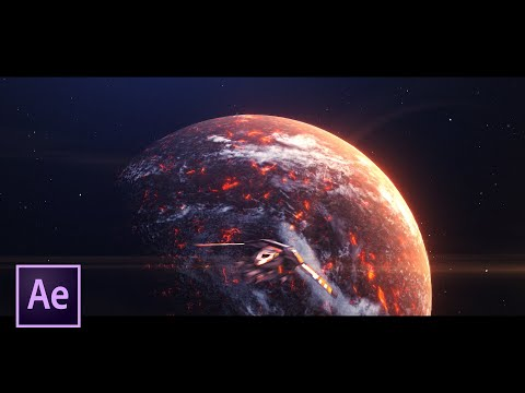 space scene in after effects by aemachine