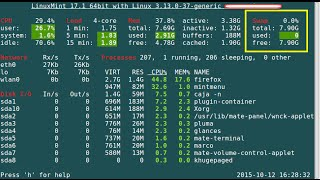How To Install Glances Real Time System Monitoring Tool For CentOS, Fedora, Ubuntu, Debian