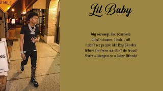 Lil Baby   Out The Mud Ft. Future (Lyrics)