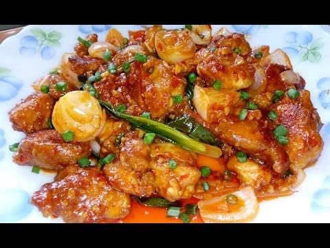 Restaurant Style Schezwan Chicken/ Szechuan Chicken at home