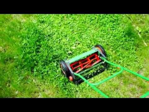 Mechanical Reel Lawn Mower Machine Review