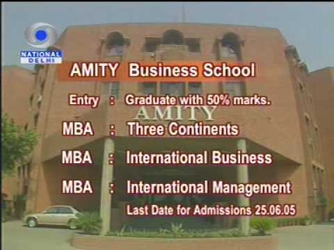 Amity Institute of Education video cover2