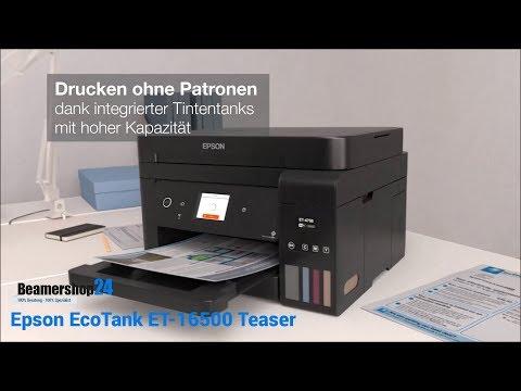 Epson ET-4750 EcoTank (WLAN, Tintentank, Farbe, Duplexdruck)