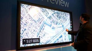 Windows 8 on 82-inch display hands-on demo thumbnail