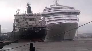 Carnival Triumph Cruise Choque de Barco