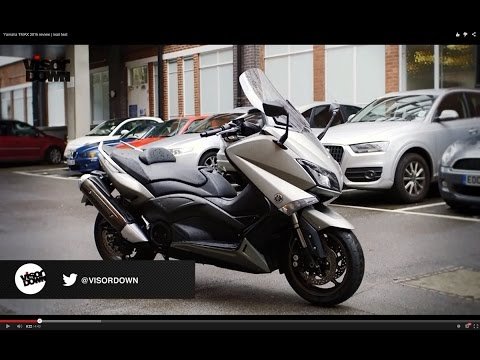 Yamaha TMAX 2015 review | road test