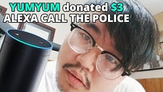 2000 Viewers make Alexa call the Police - Alexa Text to Speech