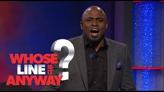 Wayne Brady's Musical Showcase Part Two - Whose Line Is It Anyway? US