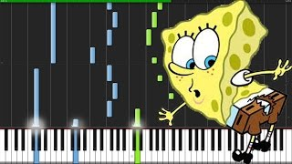 Ripped Pants - SpongeBob SquarePants [Piano Tutorial] (Synthesia) // Magical Piano