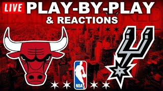 Chicago Bulls vs San Antonio Spurs   Live Play-By-Play & Reactions